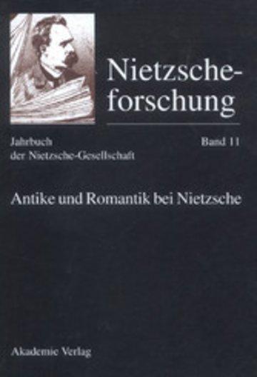 eBook Antike und Romantik bei Nietzsche Cover