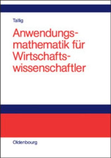 eBook Anwendungsmathematik für Wirtschaftswissenschaftler Cover