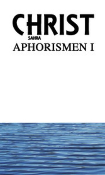 eBook Aphorismen I Cover