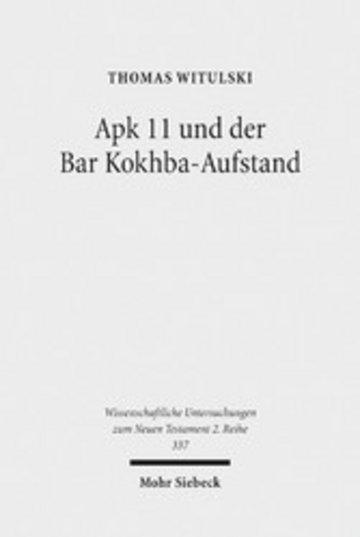 eBook Apk 11 und der Bar Kokhba-Aufstand Cover