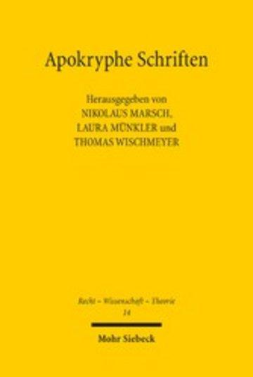 eBook Apokryphe Schriften Cover