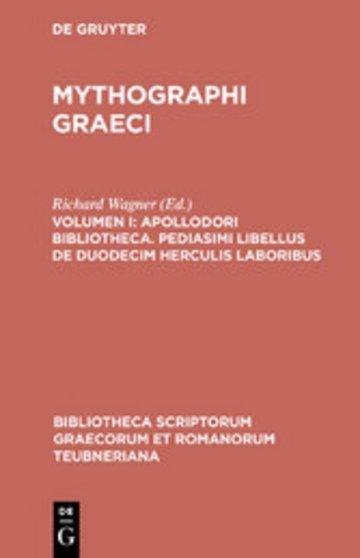 eBook Apollodori bibliotheca. Pediasimi libellus de duodecim Herculis laboribus Cover