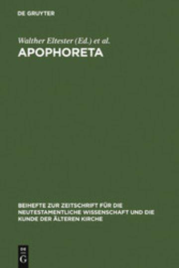 eBook Apophoreta Cover