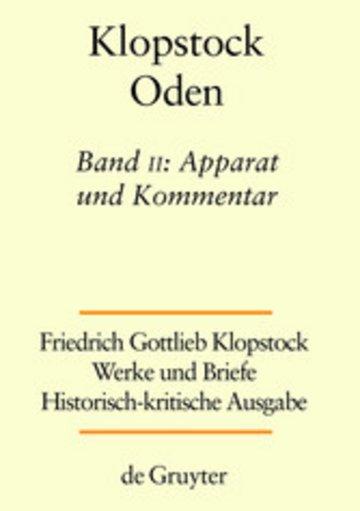 eBook Apparat und Kommentar Cover
