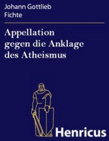 eBook Appellation gegen die Anklage des Atheismus Cover