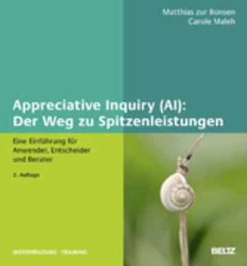 eBook Appreciative Inquiry (AI): Der Weg zu Spitzenleistungen Cover