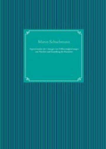 eBook Approximation der Lösungen von Differentialgleichungen mit Wavelets und Einstellung der Parameter Cover