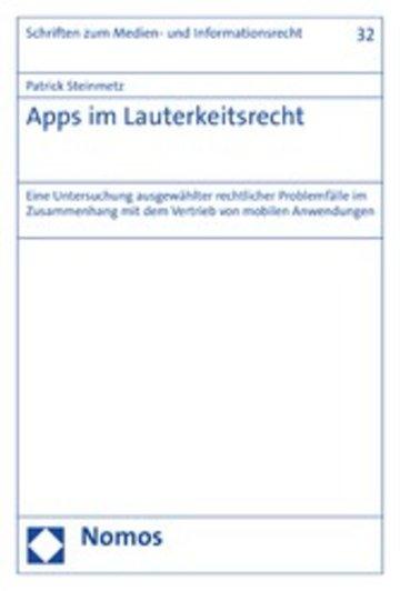 eBook Apps im Lauterkeitsrecht Cover