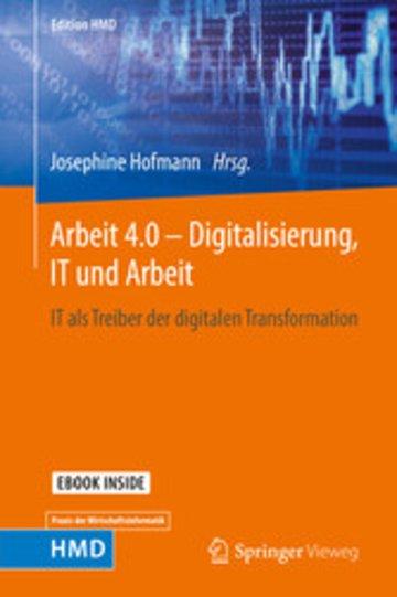 eBook Arbeit 4.0 - Digitalisierung, IT und Arbeit Cover