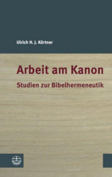 eBook Arbeit am Kanon Cover