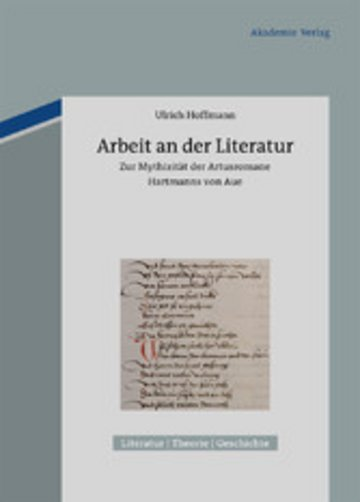 eBook Arbeit an der Literatur Cover
