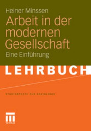 eBook Arbeit in der modernen Gesellschaft Cover