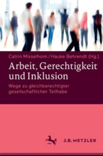 eBook Arbeit, Gerechtigkeit und Inklusion Cover