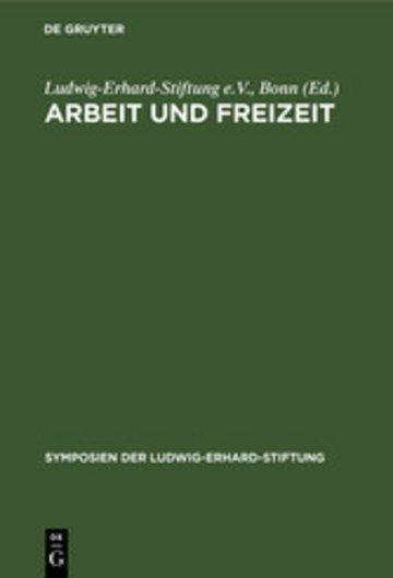 eBook Arbeit und Freizeit Cover