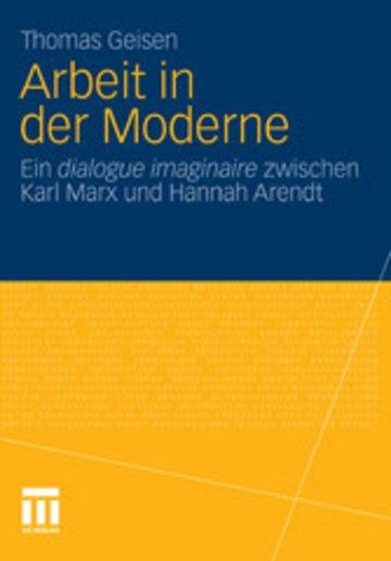 eBook Arbeit und Subjektwerdung in der Moderne Cover