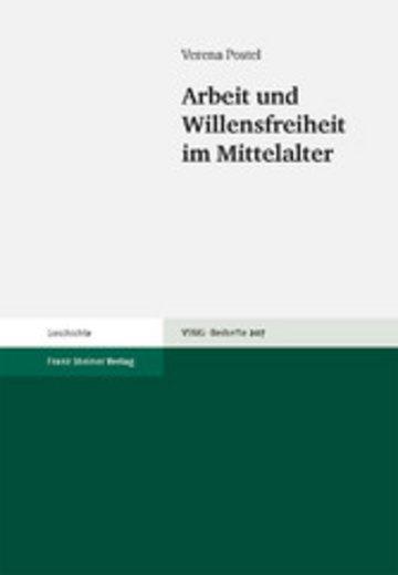 eBook Arbeit und Willensfreiheit im Mittelalter Cover