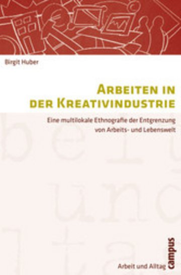 eBook Arbeiten in der Kreativindustrie Cover