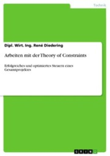 eBook Arbeiten mit der Theory of Constraints Cover