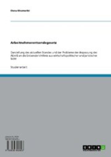 eBook Arbeitnehmerentsendegesetz Cover