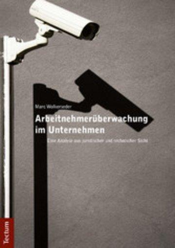 eBook Arbeitnehmerüberwachung im Unternehmen Cover
