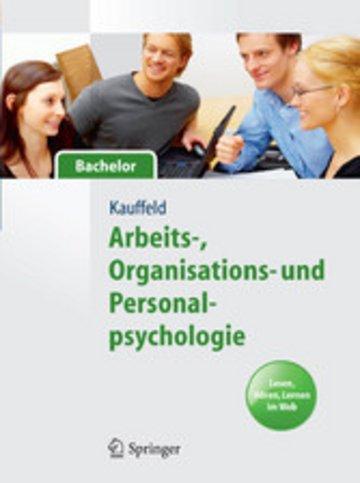 eBook Arbeits-, Organisations- und Personalpsychologie für Bachelor. Lesen, Hören, Lernen im Web Cover