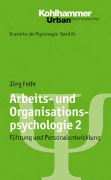 eBook Arbeits- und Organisationspsychologie 2 Cover