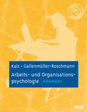 eBook Arbeits- und Organisationspsychologie kompakt Cover