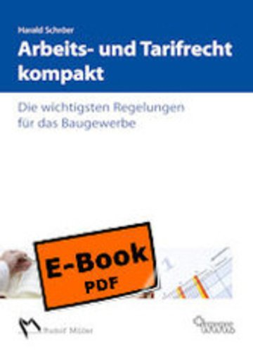 eBook Arbeits- und Tarifrecht kompakt Cover