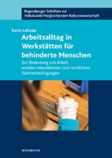 eBook Arbeitsalltag in Werkstätten für behinderte Menschen Cover