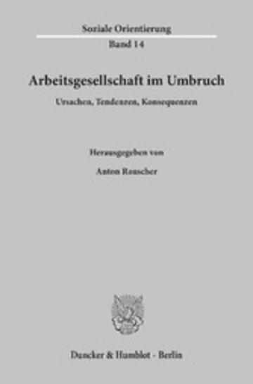eBook Arbeitsgesellschaft im Umbruch. Cover