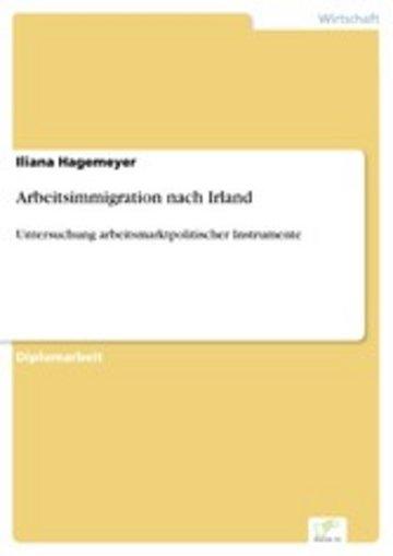 eBook Arbeitsimmigration nach Irland Cover