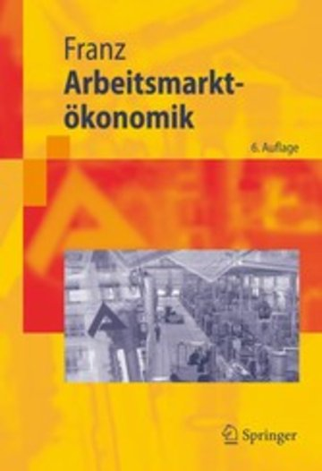 eBook Arbeitsmarktökonomik Cover