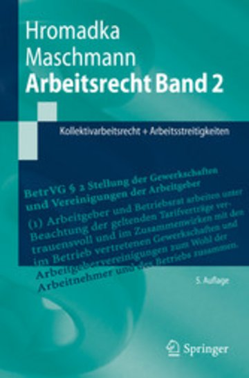 eBook Arbeitsrecht Band 2 Cover
