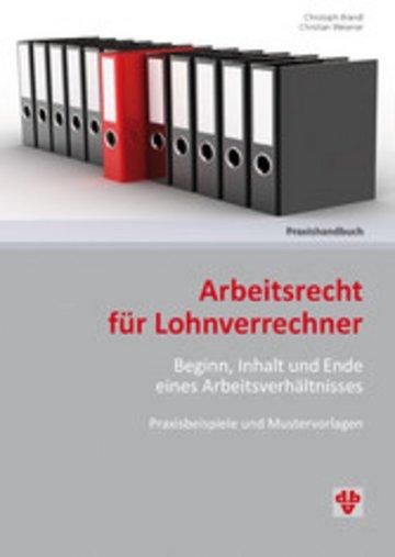 eBook Arbeitsrecht für Lohnverrechner (Ausgabe Österreich) Cover