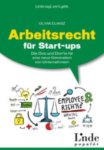 ebook arbeitsrecht fr start ups cover - Ups Bewerbung