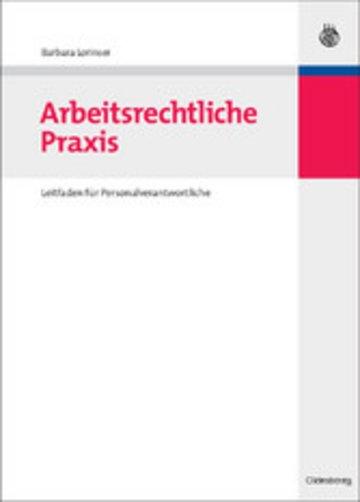 eBook Arbeitsrechtliche Praxis Cover