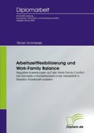 eBook Arbeitszeitflexibilisierung und Work-Family Balance Cover