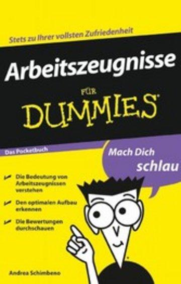 eBook Arbeitszeugnisse für Dummies Cover