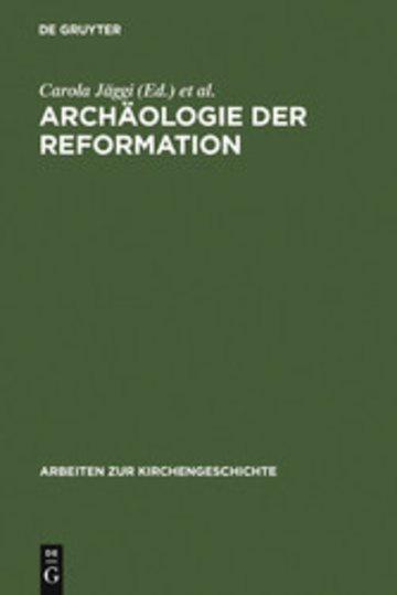 eBook Archäologie der Reformation Cover