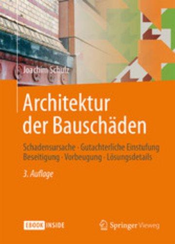 eBook Architektur der Bauschäden Cover
