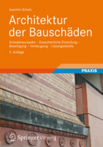 eBook Architektur der Bauschäden Cover