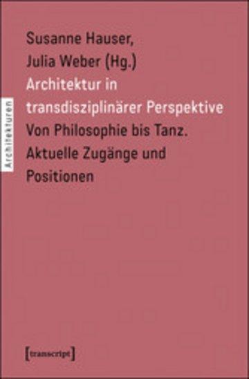 eBook Architektur in transdisziplinärer Perspektive Cover