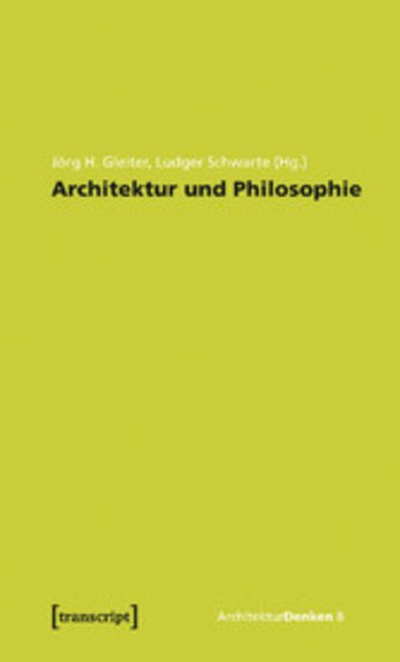 eBook Architektur und Philosophie Cover
