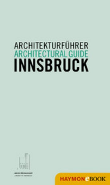 eBook Architekturführer Innsbruck / Architectural guide Innsbruck Cover