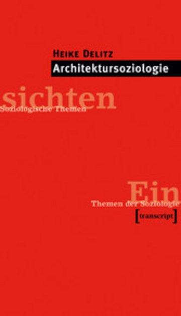 eBook Architektursoziologie Cover