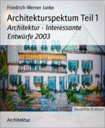 eBook Architekturspektum Teil 1 Cover