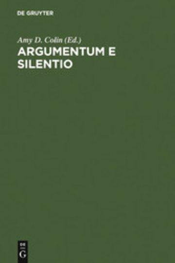 eBook Argumentum e Silentio Cover