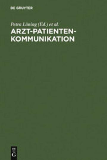 eBook Arzt-Patienten-Kommunikation Cover