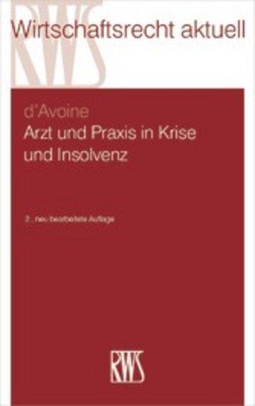 eBook Arzt und Praxis in Krise und Insolvenz Cover