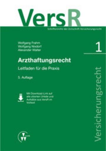 eBook Arzthaftungsrecht Cover